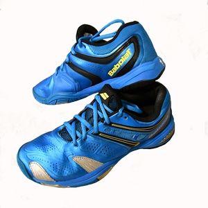 Babolat V-PRO 2 All Court Tennis Shoe Blue/Yellow